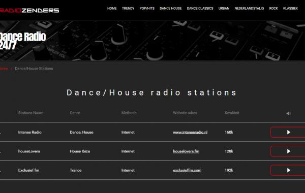 Online Radio portal